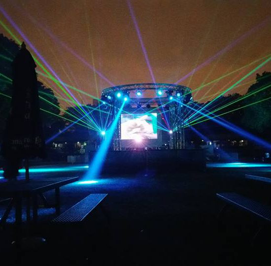 Large Scale Outdoor Laser Show