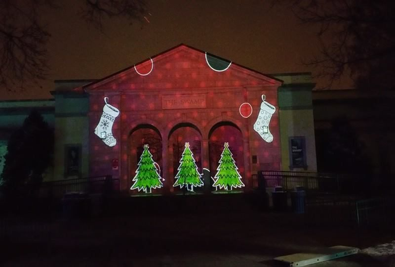 Outdoor Building Projection Mapping