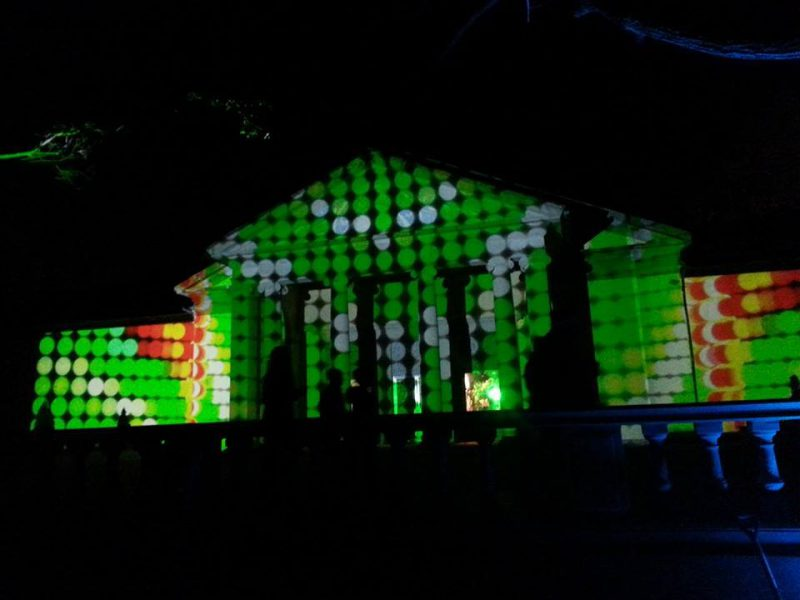 Outdoor 3D Video Mapping