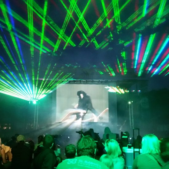 Custom Developed Laser Show