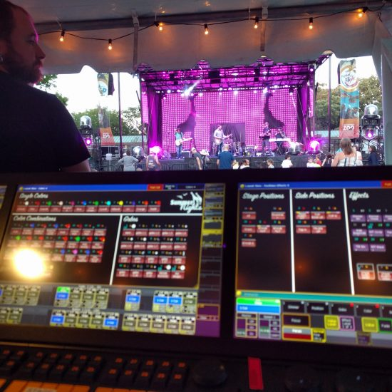Outdoor Concert Sound Lighting LED and Stages