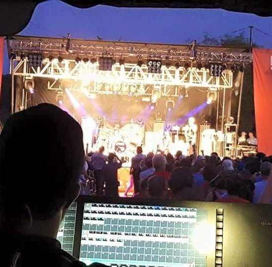 Music Festival Lighting and Sound